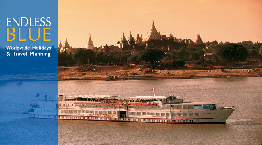 The Road to Mandalay, Burma, by Orient Express.  Luxury travel arrangements by Endless Blue Travel